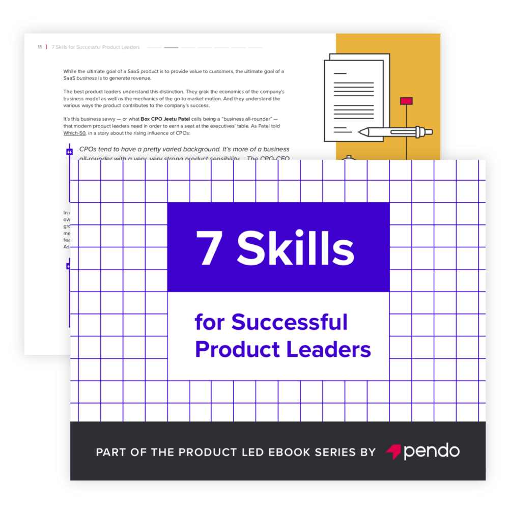 Pendo eBook: 7Skills for Successful Product Leaders