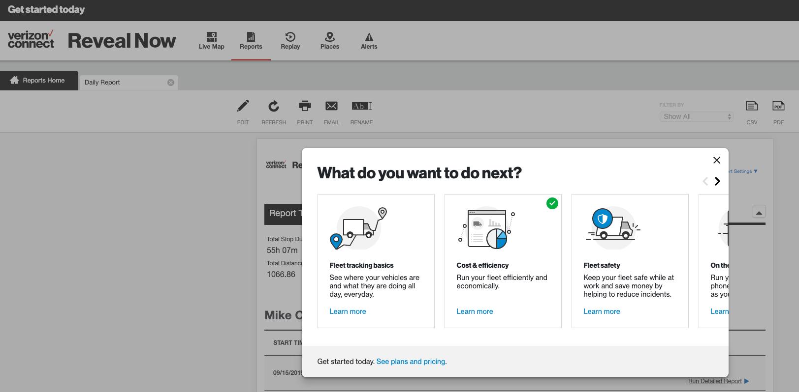 Guide Pendo Verizon Connect