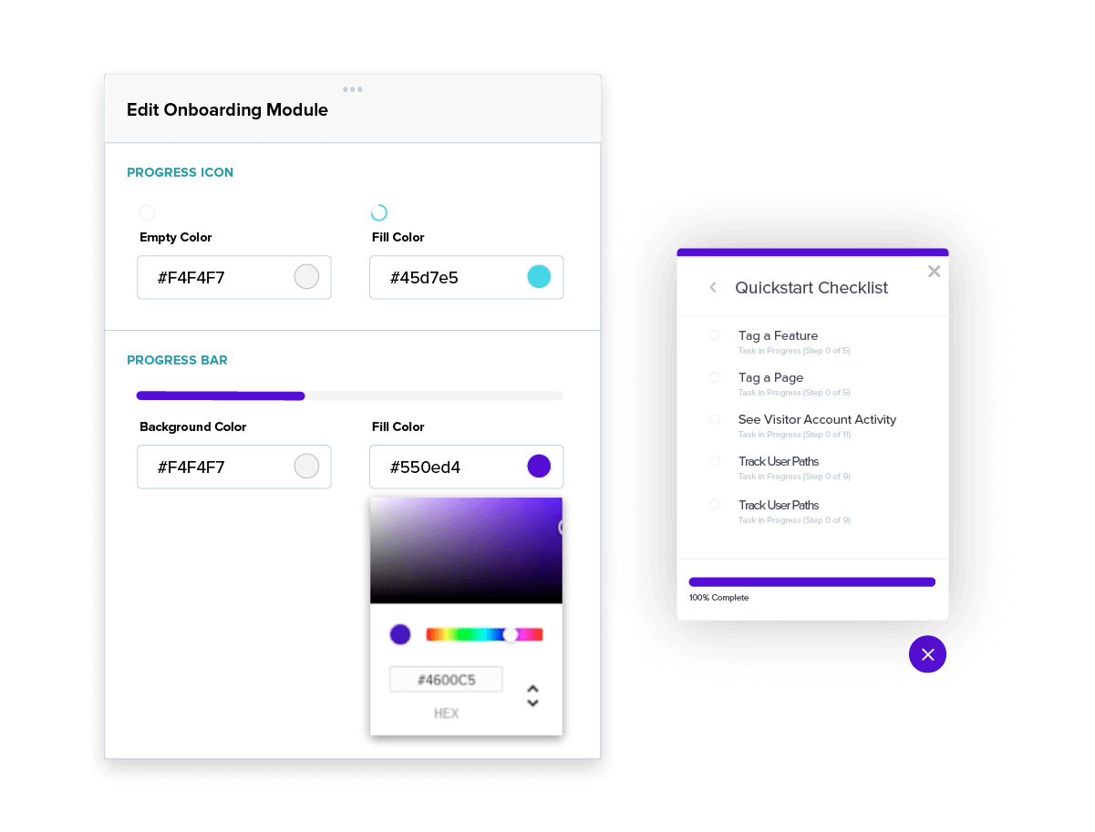 Personalizing Your In-App Onboarding Experience - Onboarding Module Customization - Pendo