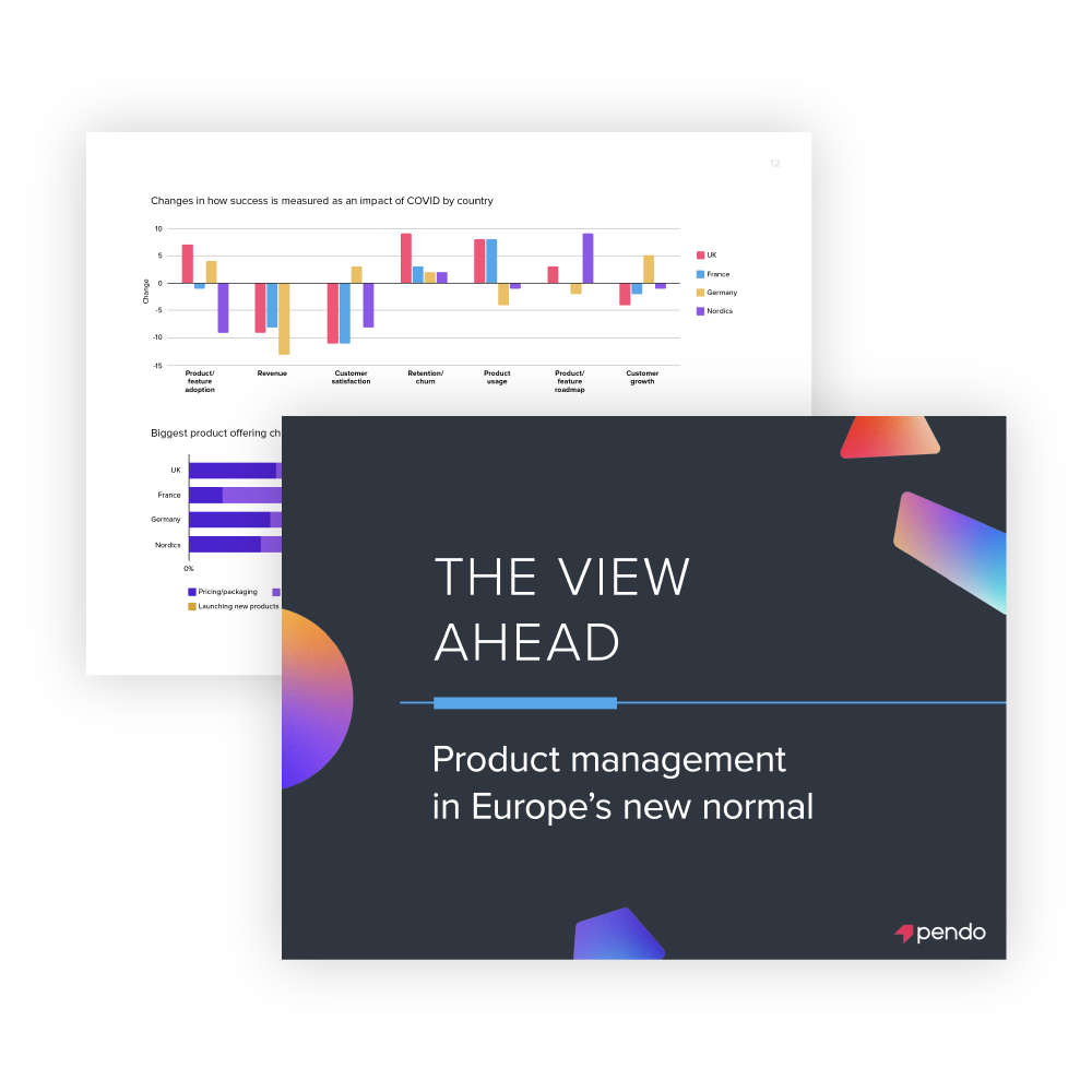 Pendo E-book: The view ahead: product management in Europe's new normal